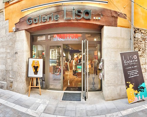 Galerie Lisa, rue Pierre Semar à Toulon