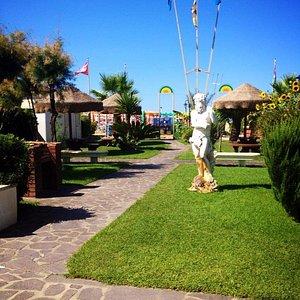 Il nostro giardino sempre verde e curato da Alessandro