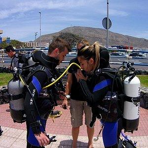 PADI Open Water scuba diving course