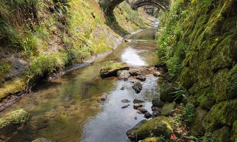 石見銀山 - 羅漢寺五百羅漢 石拱橋