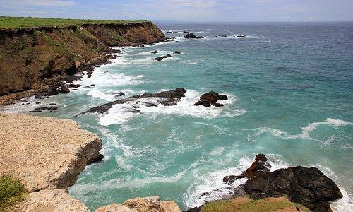 Vista de la hermosa Isla de Plata
