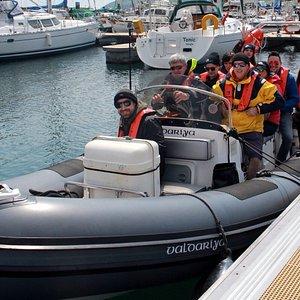 Coastal Powerboat Rides