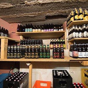 Une sélection de bières belges à l'Amère à Boire