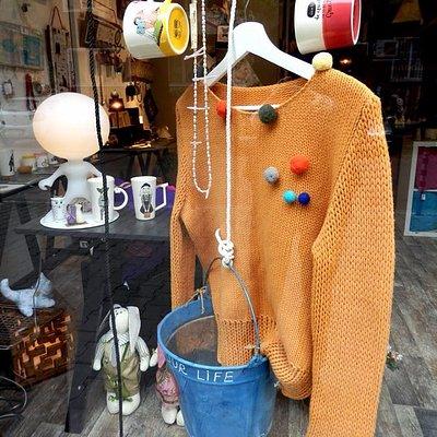 the shop-window