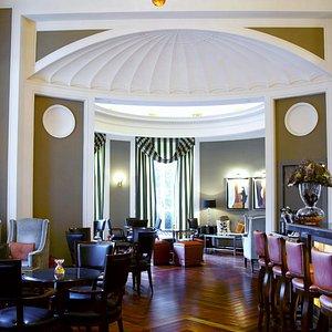 Stylish interior at ORVM Bar in Via Veneto