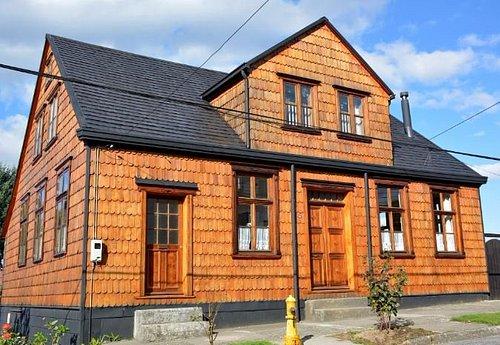 Una de las casas patrimoniales