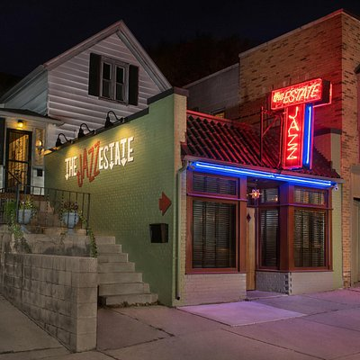 The Jazz Estate located on Milwaukee's Eastside features craft cocktails and live music.