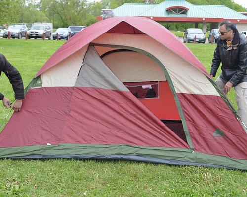 Camping at Eldorado Park Brampton