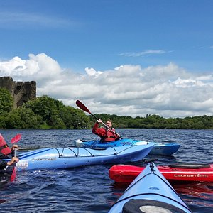 Kayaking Day Tour to Clough Oughther Castle