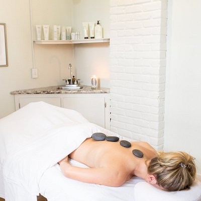 We offer many services, including Hot Stone Massage, a local favorite