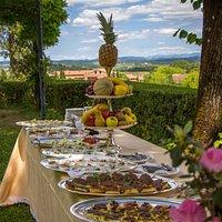 banchetto a Villa Scacciapensieri