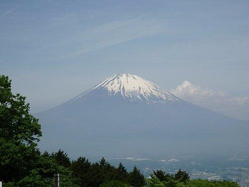 富士山の眺望