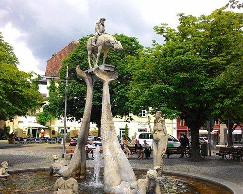 Общий вид на фонтан