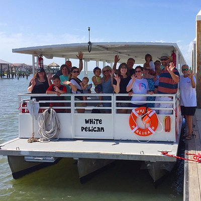 Red Boat Water Tours, maiden voyage of our new vessel, the 40 passenger White Pelican!