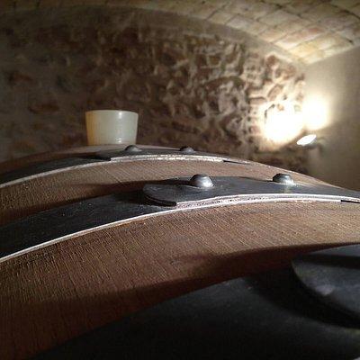 Acacia wood for Acàcia wine.