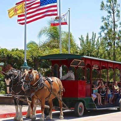 Horse Drawn Trolley Winery Shuttle