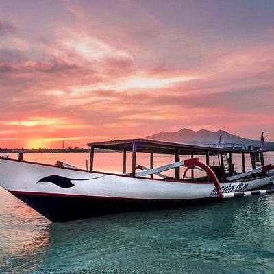 George Boat at Sunrise