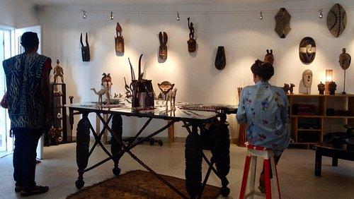 exposition d'art Africaine par Nouhou