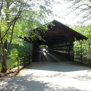 Stone Mountain Covered Bridge