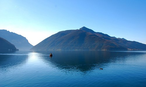 Monte San Giorgio e Lago