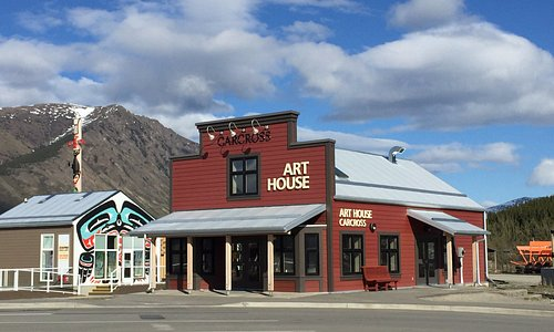 Art House Carcross located next to the Carcross Common