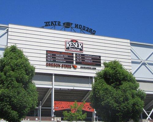 Reser Stadium, Pac 12, Home of the Oregon Beavers, Corvallis, Oregon