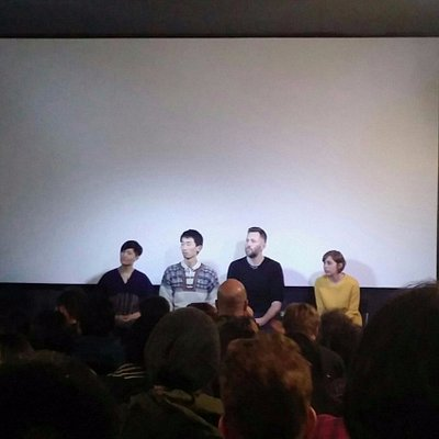 There was a panel discussion after the short films I watched at Taban Art Cinema.