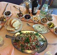 Salade grecque en entrée