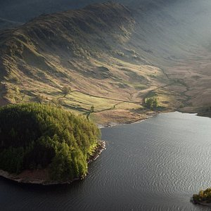 Evening light, Haweswater, Lake District