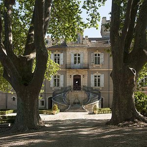 L'entrée principale du Château Capion