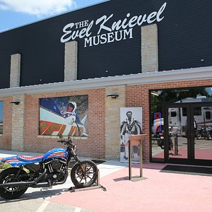 The Evel Knievel Museum is NOW OPEN!  Photo by: Keith Horinek