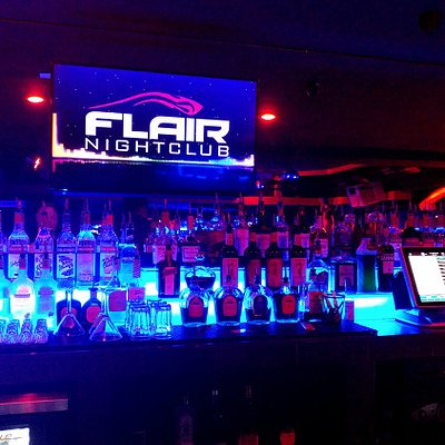 The Main Bar at Flair