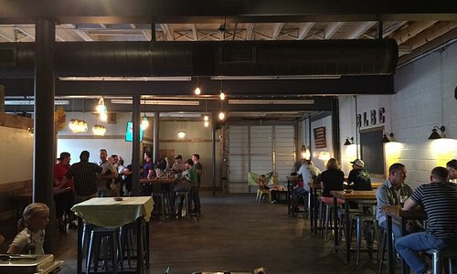 Great industrial atmosphere with a chill vibe!