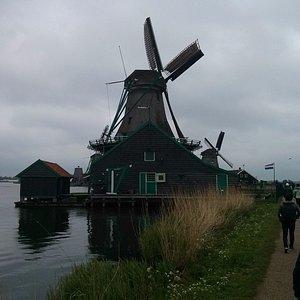 Windmill ahead