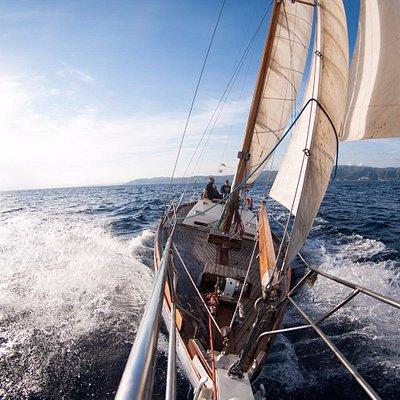 Fantastic epxerience in the Tagomago Sailing Boat!