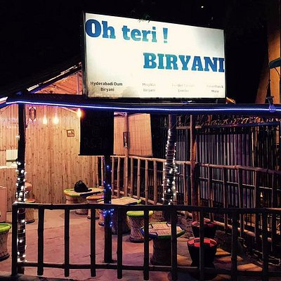 This is Oh Teri ! Biryani. Food is Economical. And ambience is breath taking. i love the decorat
