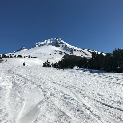Another shot of the mountain from a run