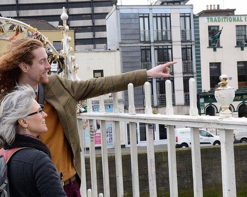 From Dublin's icon the Ha'Penny Bridge