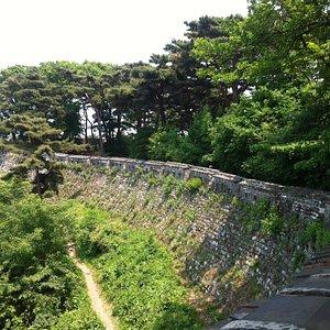 side walk path