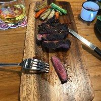 Fantastic steak