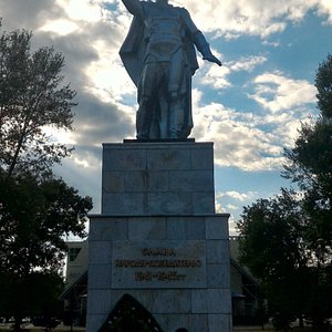 Памятник Воину Освободителю, Нефтекамск.