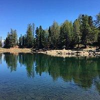 Teil des Zirmtaler Sees