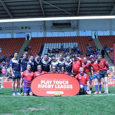 Summer Bash 2016 with the North Derbyshire Chargers RLFC.