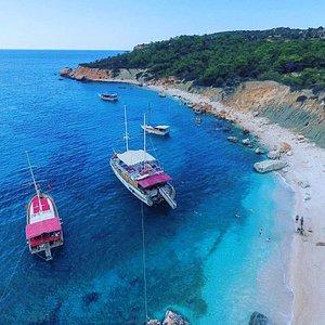 Sea Bella Gerenlik plajı