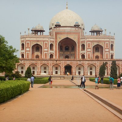The tomb of Humayun was built by the orders of Humayun's first wife Empress Bega Begum
