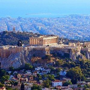 Parthenon  -  Acropolis Hill (athens tour) panoramic