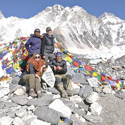 Trekking with Himalayan Trekking Alliance to Everest Base Camp in December 2016 was an unforgett