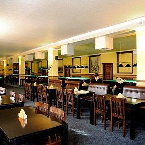 Более 70-ти посадочных мест в барной зоне
