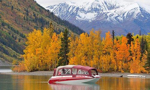 Stunning fall colours at Kathleen Lake