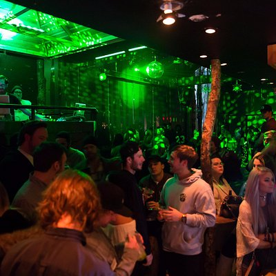 Forest inside a club